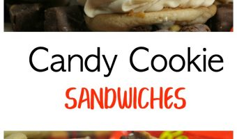 Candy Cookie Sandwiches