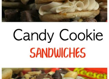 Delicious cookie sandwiches