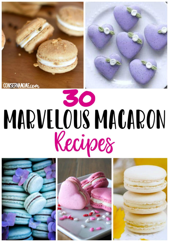 macaron recipes