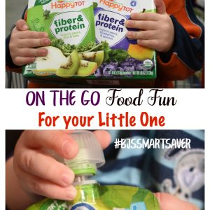 On the Go Food Fun For your Little One #Bjssmartsaver