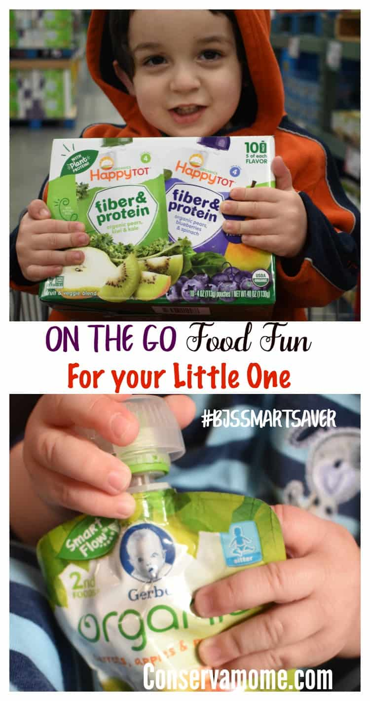 Making sure your little is fed while on the go just got easier thanks to all the great products you can find at BJ's Wholesale Club. Find out how easy it is to have on-the-go food fun for your little one.