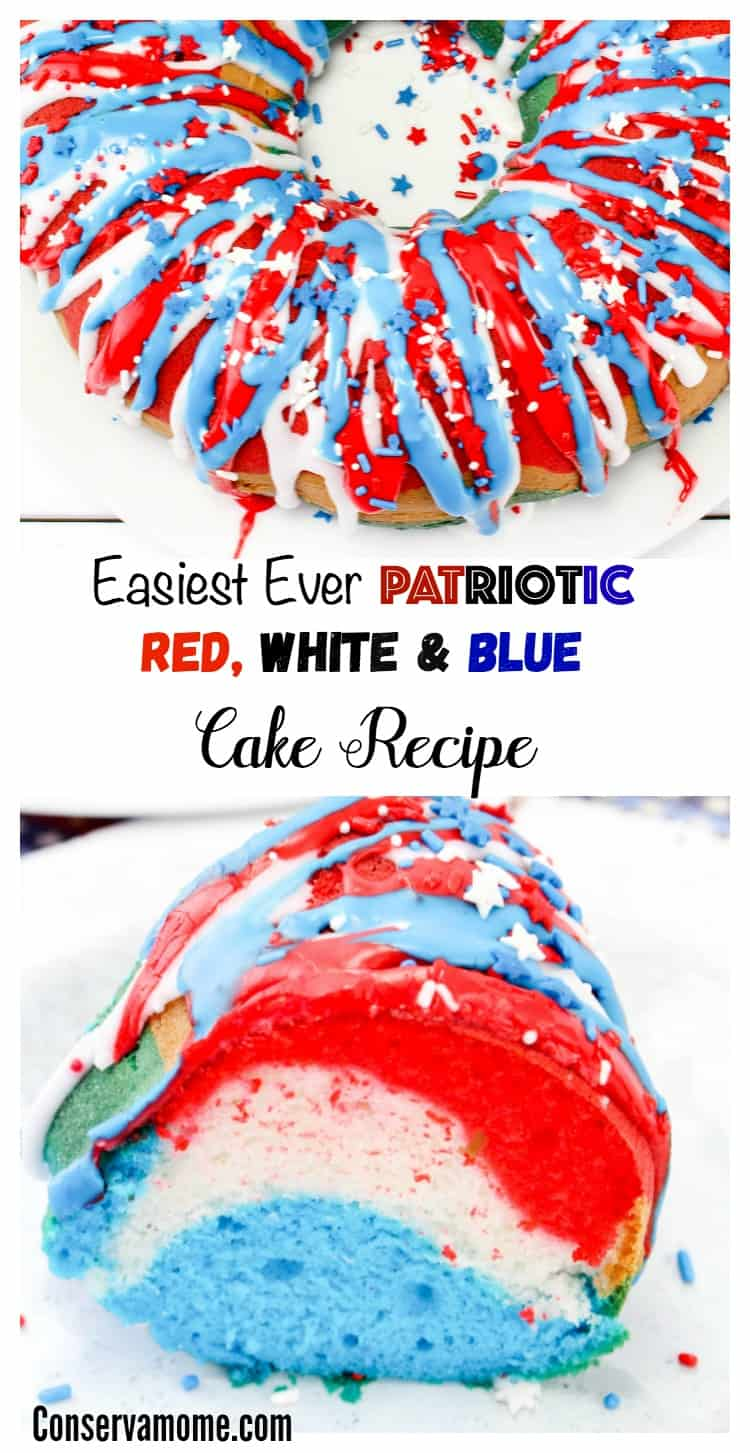 Making a patriotic dessert was never easier! Check out theEasiest Ever Patriotic Red, White & Blue Cake Recipe. Your guest will be blown away by it's beauty, you'll be blown away by how easy it was to make!