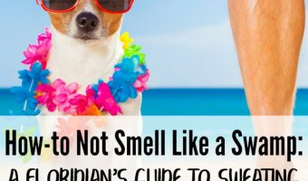 How-to Not Smell Like a Swamp: A Floridian's Guide to Sweating