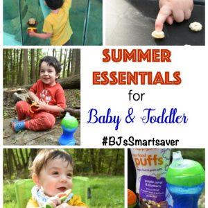 Summer Essentials for Baby & Toddler #BJsSmartsaver