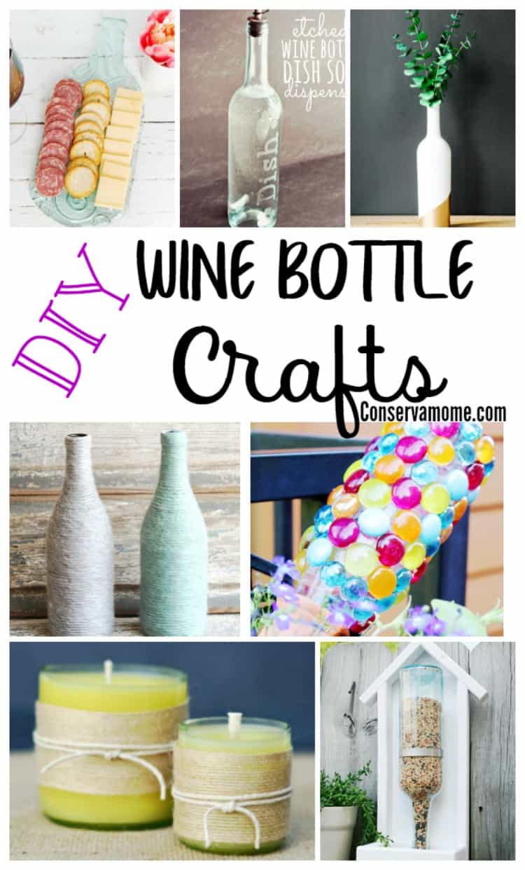 Have left over wine bottles? Check out these easy and fun DIY Wine Bottle Crafts that are perfect to make with your left over wine bottles.