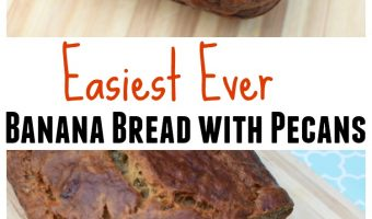 Easiest Ever Banana Bread with Pecans Recipe