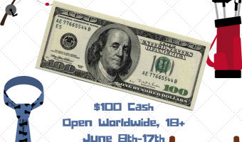 $100 Cash Giveaway ends 6/17