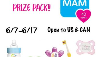 Father's Day Promo from MAM & $50 MAM Gift Pack Giveaway ends 6/17