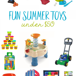 Fun Summer Toys For under $50
