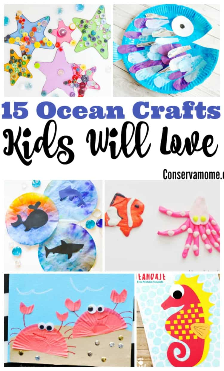 Ocean crafts for kid that they will love