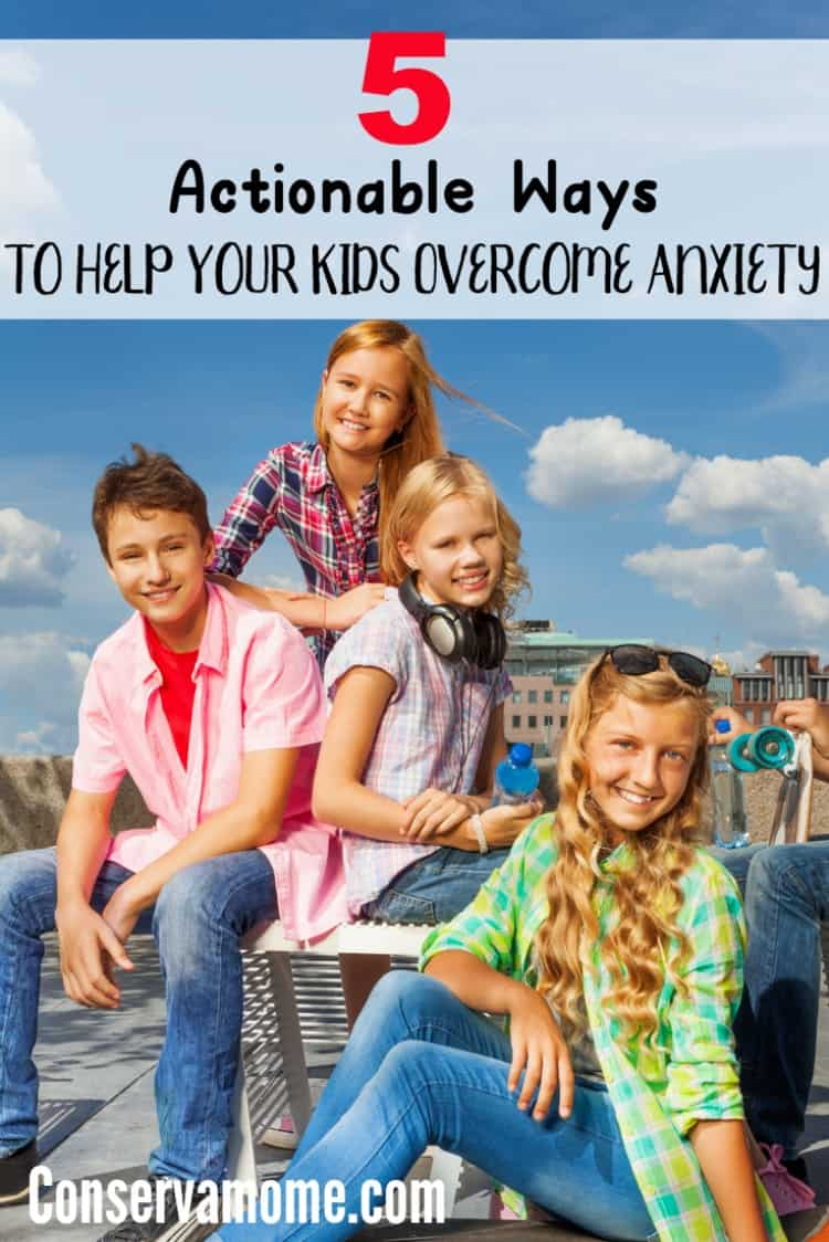 Stress has become an everyday occurrence for most adults. However, children have also began to experience anxiety as part of everyday life. Here are 5 Actionable Ways to Help Your Kids Overcome Anxiety.