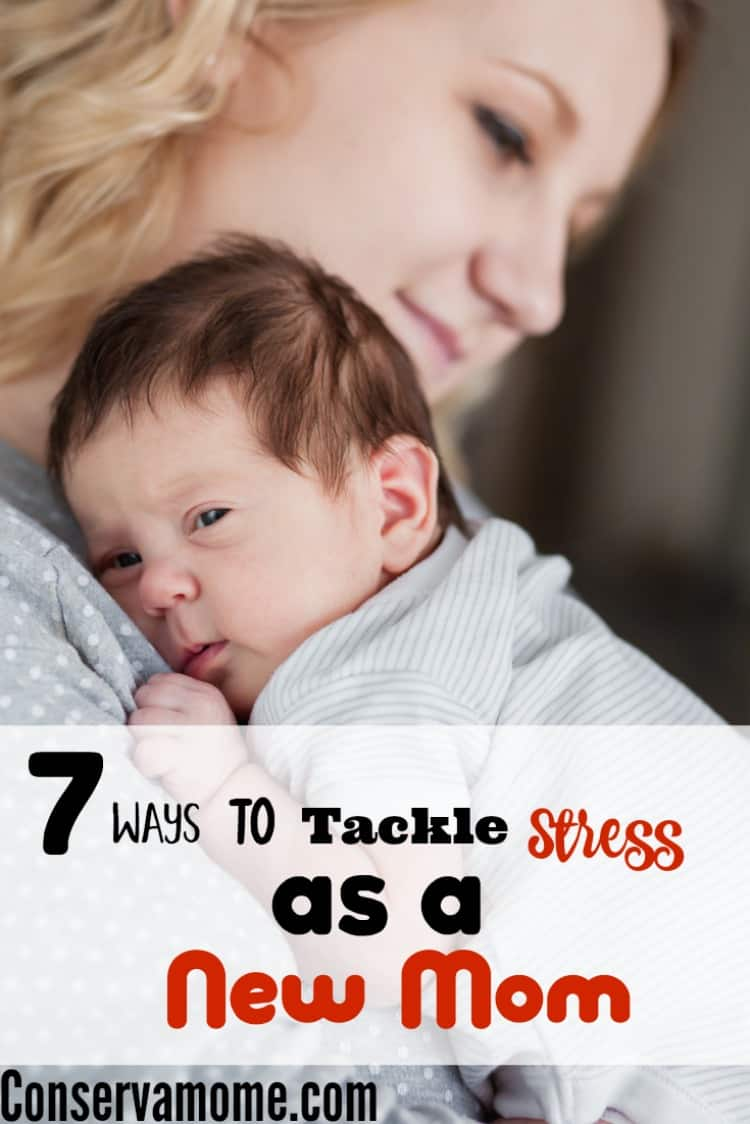 Being a new mom isn't just tough but stressful. However, there are ways to Tackle stress as a new mom. Check out 7 ways below!