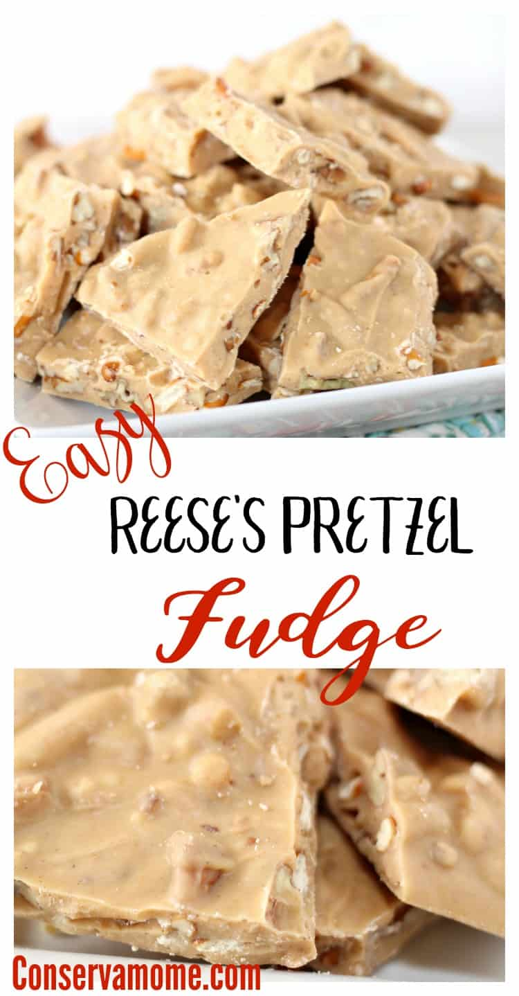 If you're a fan of Reese's & Pretzels than do I have a delicious recipe for you! Check out this Easy Reese's Pretzel Fudge that will be a hit whenever you make it.