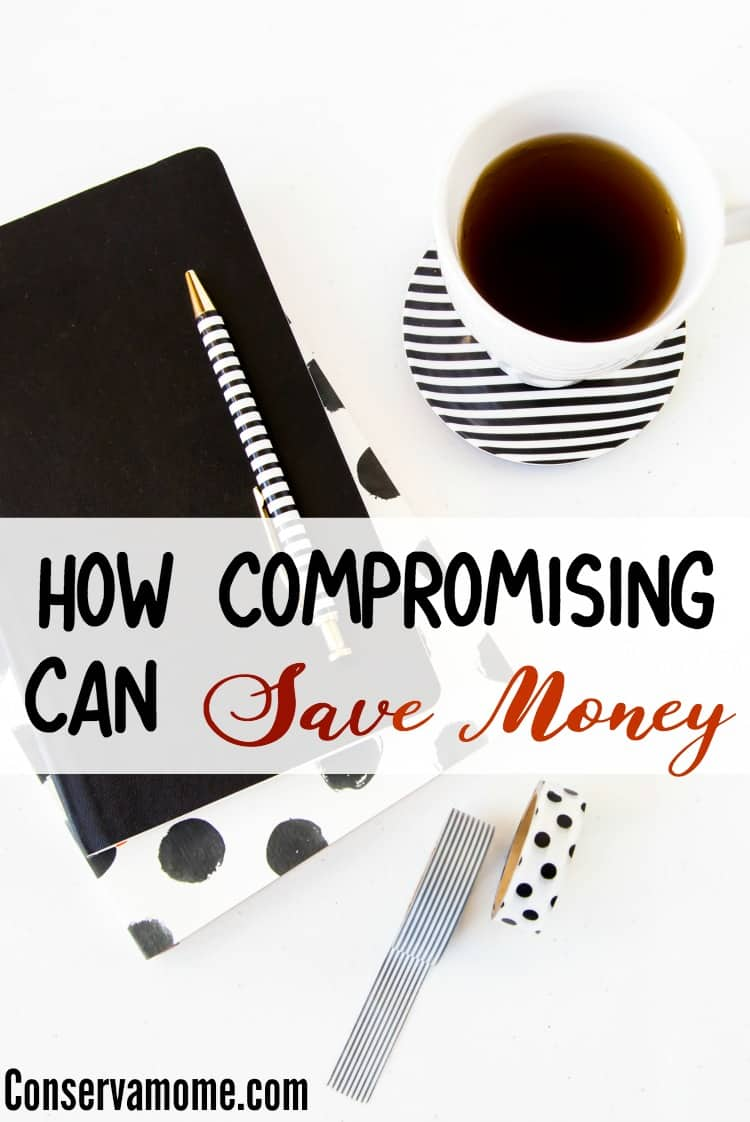 Saving money can be tough for many people however, sometimes compromising can do just that. Read some ways you can save money just by  compromising on the little things.