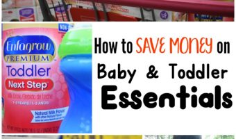 How to Save Money on Baby & Toddler Essentials!