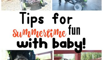 Tips for Summertime fun with Baby