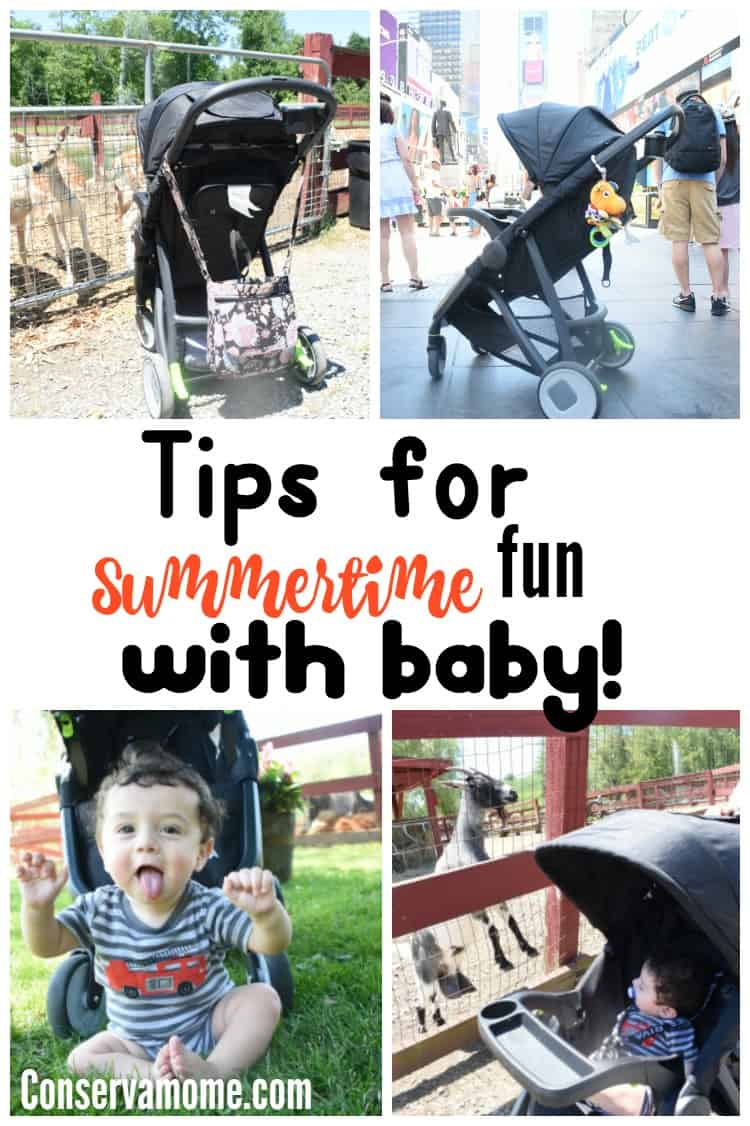 Summertime fun with baby doesn't have to be impossible with these tips! Check out how easy it is to have a blast this summer with baby in tow!