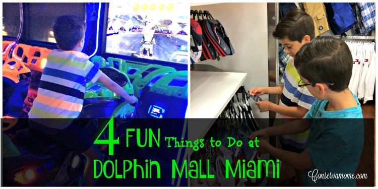 Check out 4 Fun Things to Do at Dolphin Mall  Miami, Florida this summer!