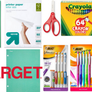 Target's Teacher Prep Discount Event + One day Savings Event