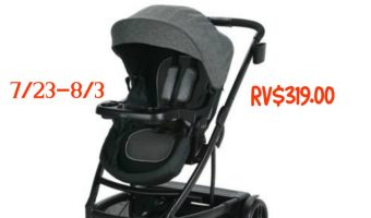 Dream Big Registry Sweepstakes + Graco UNO2DUO Stroller Giveaway ends 8/3