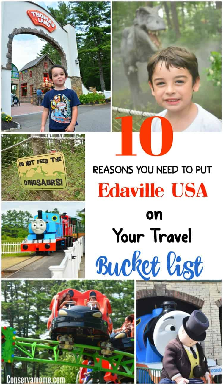 Find out 10 Reasons Why You Need to Put Edaville USA on Your Travel Bucket list.