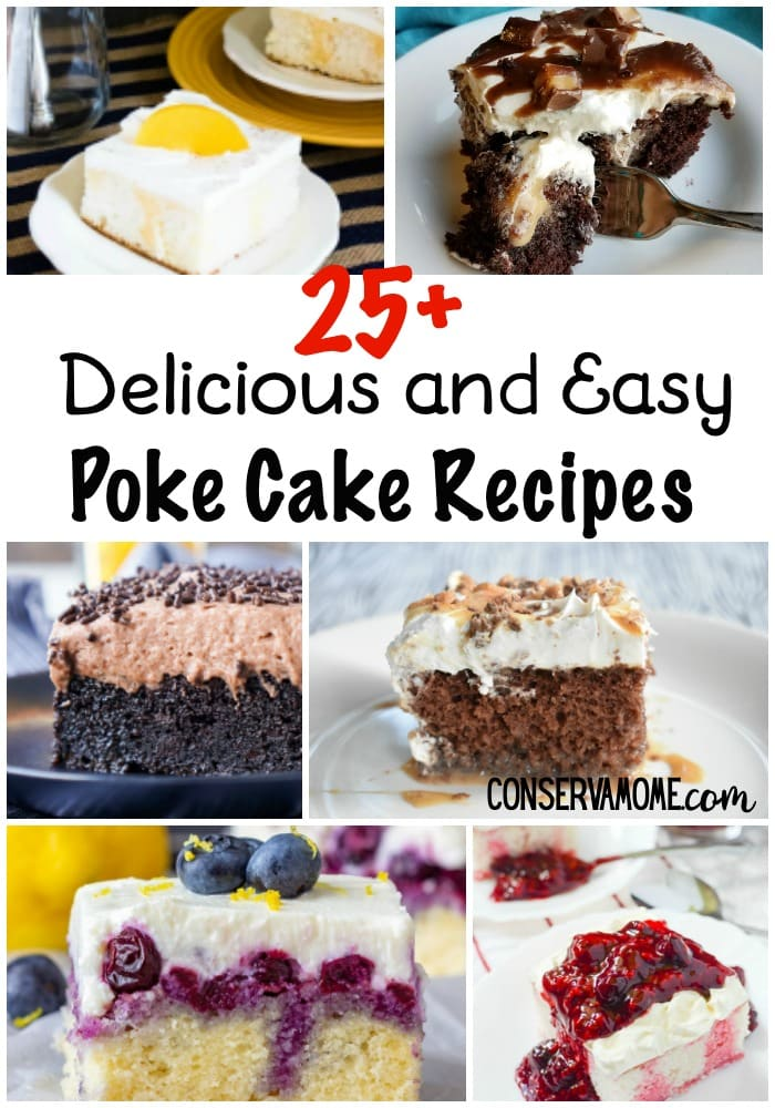 easy poke cake recipes