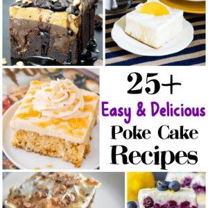 25+ Easy & Delicious Poke Cake Recipes