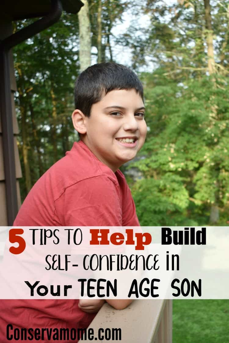 5 Tips to Help Build Self- Confidence in Your Teen Age Son #parenting
