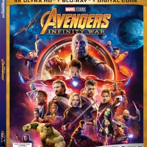 Get AVENGERS: INFINITY WAR Today on Blue Ray!