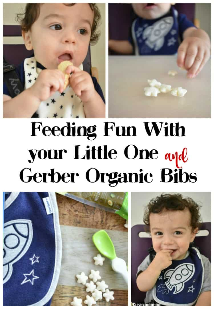 Check out how I keep baby clean during feeding fun with my little one. I've teamed up with Gerber Childrenswear  as part of an ambassadorship.