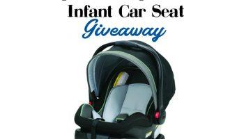Graco SnugRide SnugLock  infant car seat Giveaway ends 9/2