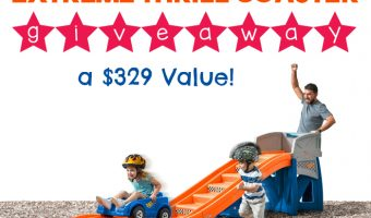 Step2 Hot Wheels Extreme Thrill Coaster Giveaway ends 8/27