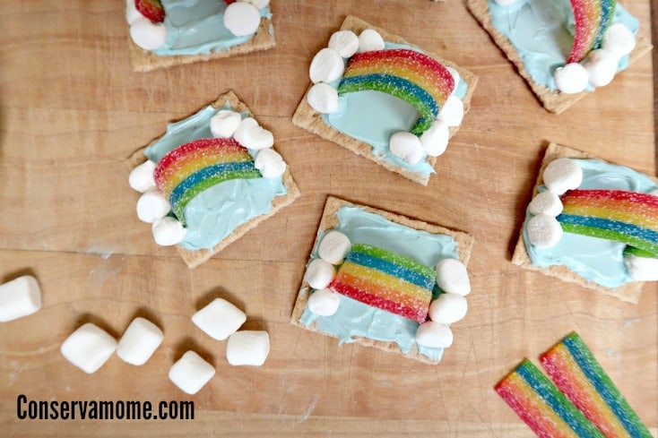 These Sweet Rainbow Cookies will brighten up even the rainiest of days. Check out how fun and easy it is to make this  Spring Treat!