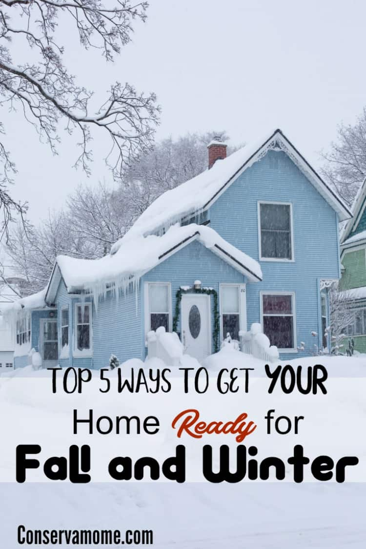 It's important to get your home ready for fall and winter. Check out the top 5 ways you can do this to help make sure you save money and get your house ready for the colder temperatures ahead.