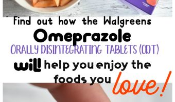 Find out how the Walgreens  Omeprazole  orally disintegrating tablets (ODT) will help you enjoy the foods you Love (Without the Heartburn)