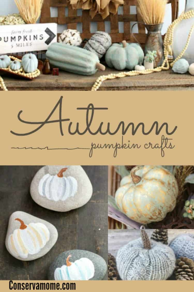 Fall is here! Looking for some fun crafts and decorations for the home? Check out this fun round up of 20 Autumn Pumpkin Crafts!