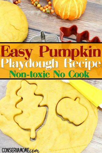 easy pumpkin playdough recipe