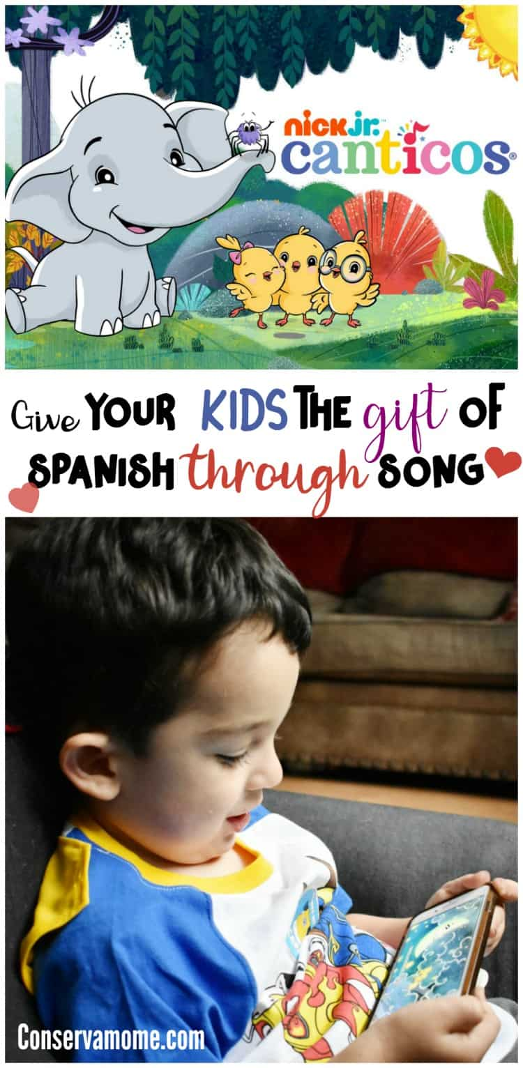 Give your kids the gift of Spanish through song with Canticos on Nick Jr. Find out more about this fun new bilingual series that will bring the power of play and song to your little one.