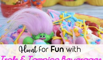 Hunt for Fun with Trolls & Tampico Beverages + Trolls Themed Bark Tutorial