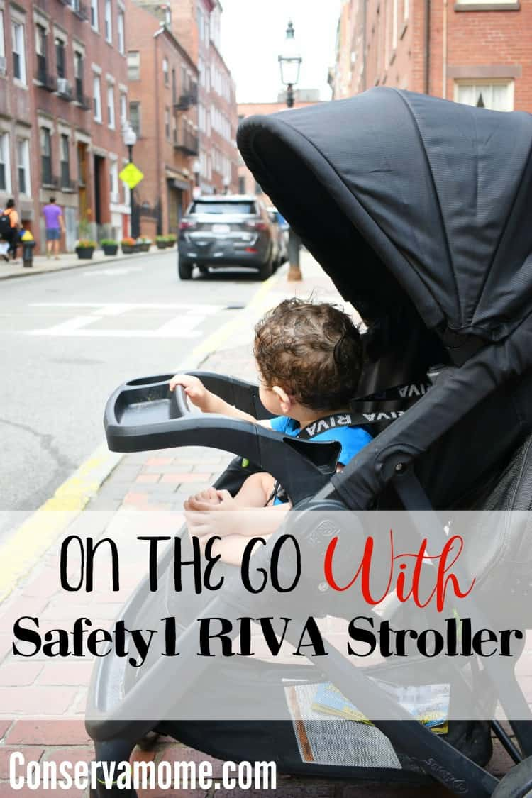 Find out how we were On The Go With Safety1st RIVA Stroller.