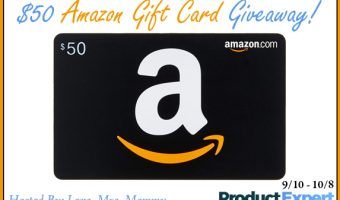 $50 Amazon Gift Card Giveaway ends 10/8