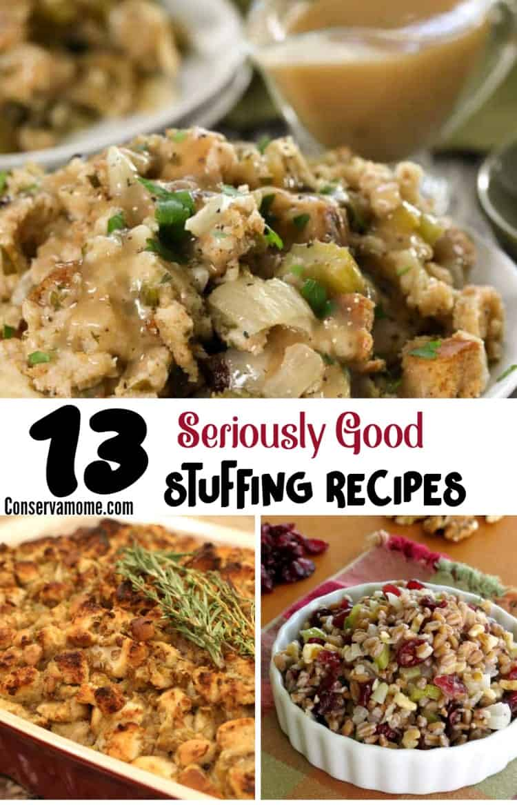 Why settle for bland stuffing when you can check out 13 Seriously Good Stuffing Recipes! Head below and change up the way you do stuffing!