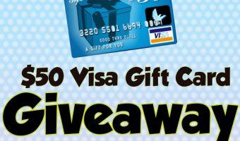 $50 Visa Gift Card Giveaway ends 11/10