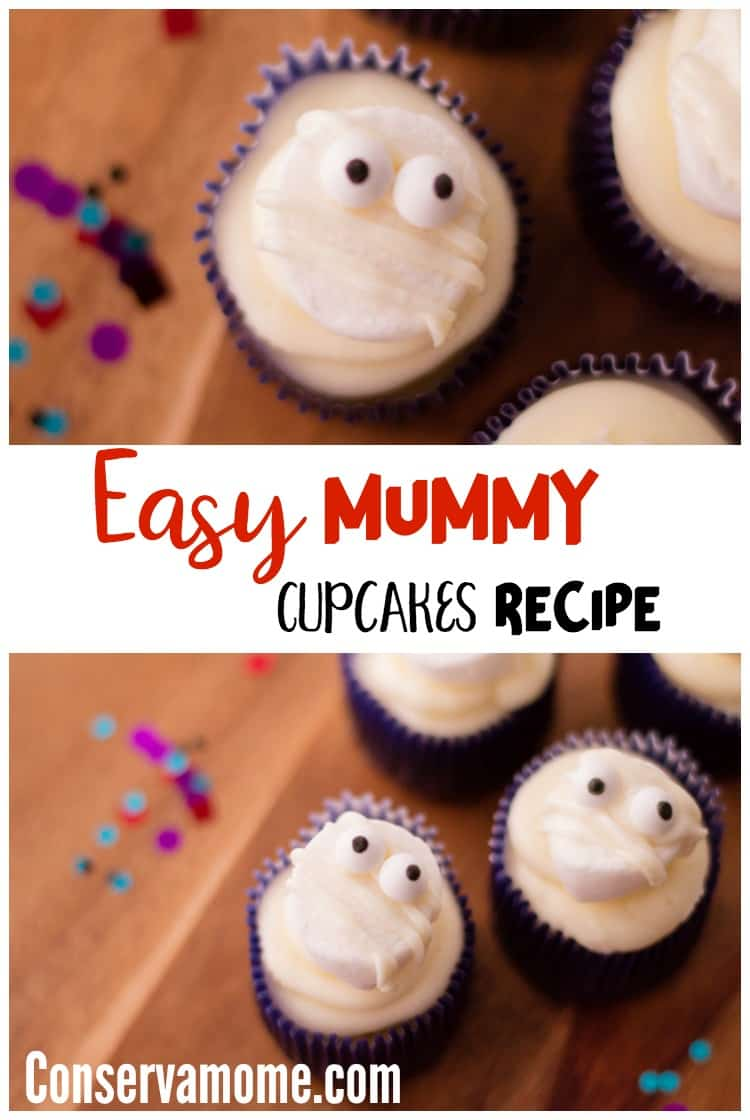 Check out thisEasy Mummy Cupcakes Recipe- A fun halloween treat idea for your little ghouls and goblins!