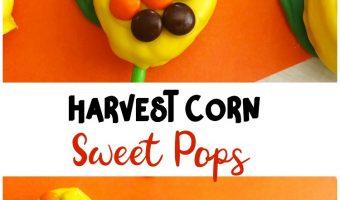 Harvest Corn Sweet Pops- A Fall Themed treat!