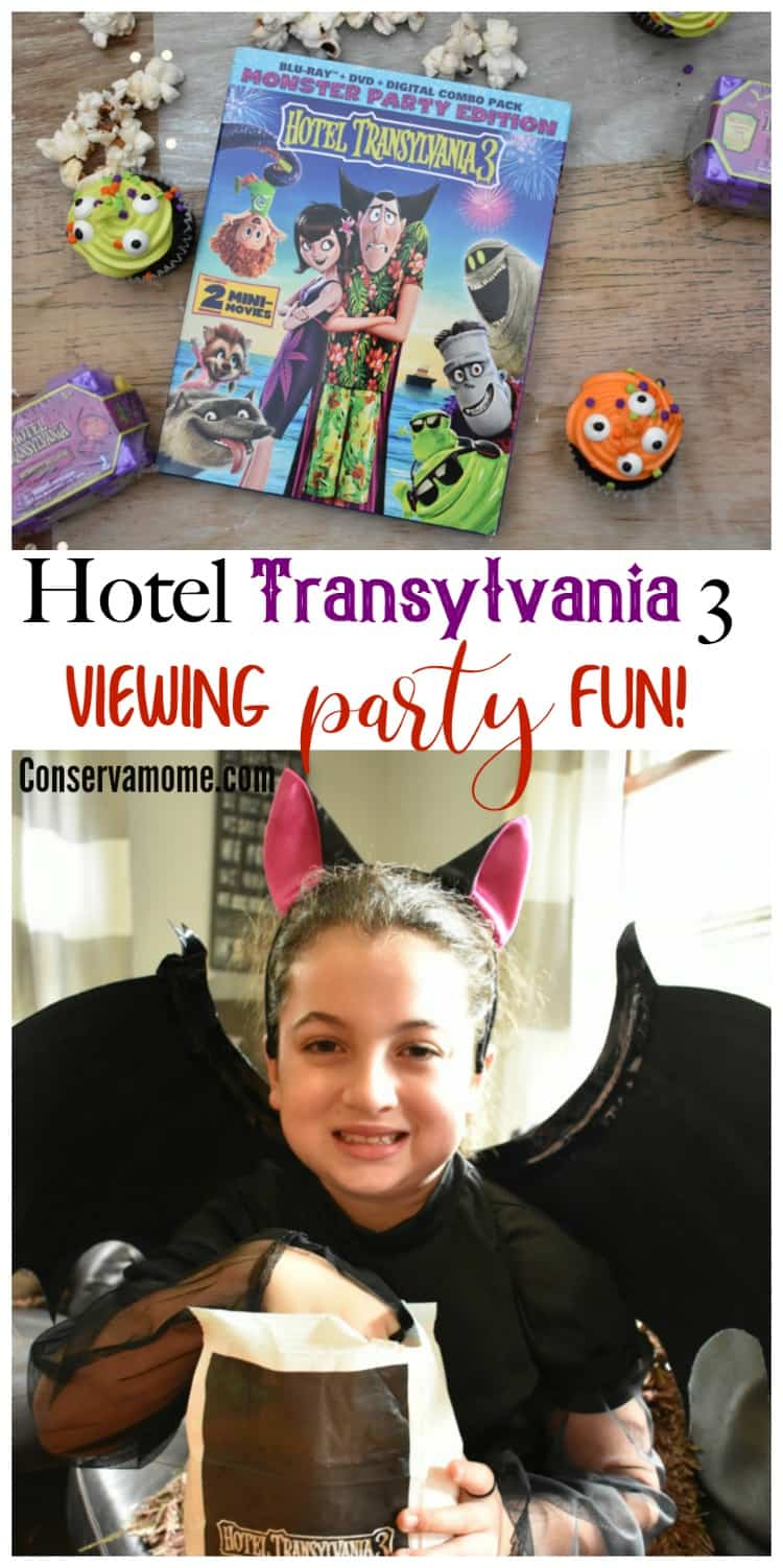 Ready to go on a fun adventure with your favorite Monster family? Check out some fun tips for a Hotel Transylvania 3: Viewing Party Fun. Disclosure: I received the items for a fun viewing party in exchange for our experience.