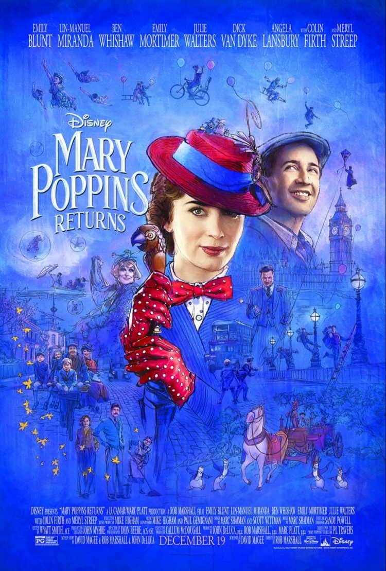 Special look at the music and magic from MARY POPPINS RETURNS! #MaryPoppinsReturns