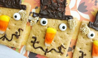 Scarecrow Grahams- The Perfect Fall Treat