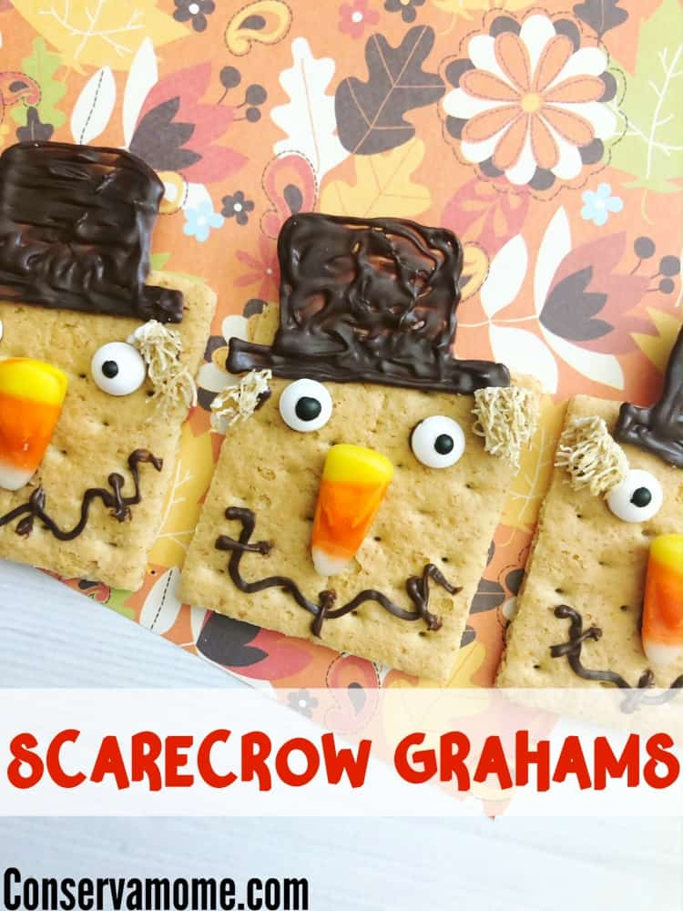 Looking for a fun fall treat? Check out these adorable Scarecrow Grahams, The Perfect Fall Treat that will be a sweet surprise for anyone!