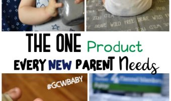 The One Product Every New Parent Needs #GCWBaby